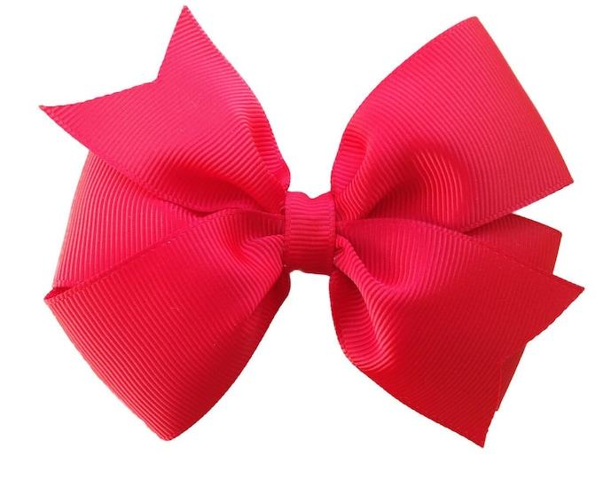 YOU PICK hair bows - hair bows, girls bows, baby bows, girls hair bows, 4 inch hair bows, pinwheel bows, toddler bows, hair clips, bows