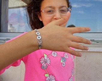Personalized Name Bracelet, Name Bracelet, Sterling Silver Bracelet, Christmas Gift Idea, Bridesmaids Gift, Gift Under 50, Gift For Her