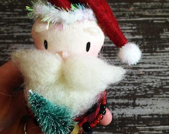 Lumberjack Santa Ornament
