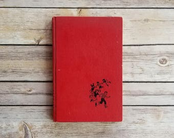 The Happy Hollisters Jerry West Mystery Story For Kids Book Gift Bright Red Book 1950s Adventure Novel Family Series Children Sleuths Crime