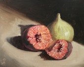 """Two Figs, 6"""" x 8&quo..."""