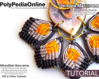 Macrame Jewelry, Macrame Gift, How to Macrame, Fimo Jewelry, DIY Bridal Jewelry, DIY Macrame, Polymer Clay, Earring Pattern, Craft, Tutorial