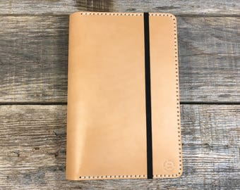 Leather Journal Cover, Leather Notebook, Moleskine, Leuchtturm 1917, A5, Handmade, Personalized Notebook Cover, Gift for Men, Gift for Women