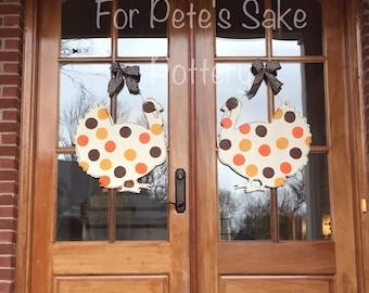Thanksgiving door hanger Turkey door hanger Thanksgiving welcome sign Personalized turkey door hanger & Thanksgiving door | Etsy