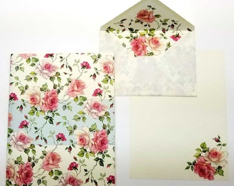 ROMANTIC Portoflio with Sheets and Envelopes (Stationery)