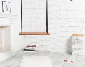 Wooden indoor swing Woody, tree swing for adults