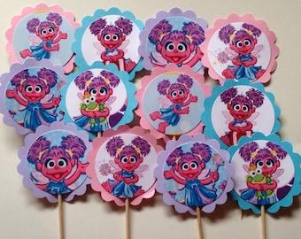 ABBY CADABBY Sesame Street Cupcake Toppers