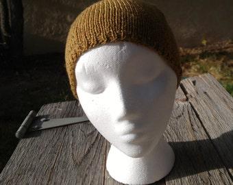 Beanie or Helmet Liner of Super-wash Wool
