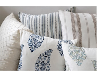 Pondichery Collection // French Country Decorative Throw Pillows // French Country Pillow Covers
