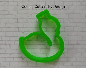 Swan with Crown Cookie Cutter / Princess Swan Cookie Cutter / Swan Cookie Cutter / Swan Princess Cookie Cutter / 3D Cookie Cutters