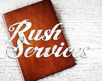 Rush Services - Order will ship in 2-3 DAYS - ADD ON