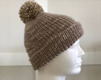 Golden Pompom hat