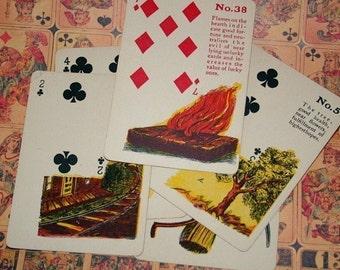 Vintage Fortune Teller Cards- Pkg of 3