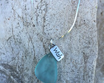 Sterling Silver Gemstone Charm Necklace
