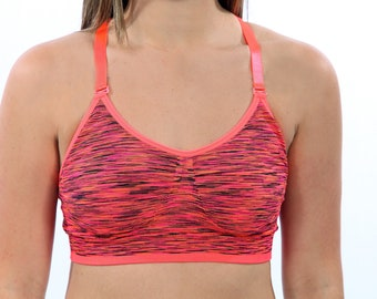Classic Comfy Orange Sports Bra