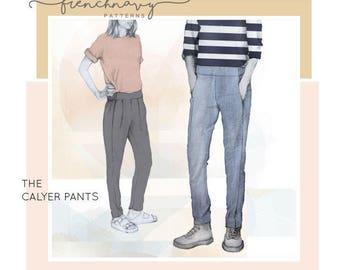 The Calyer Pants PDF Pattern