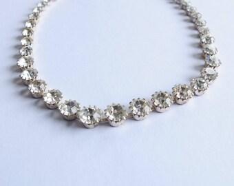 Antique Rhinestones Necklace