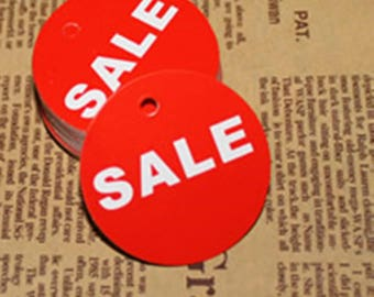 100pc 45mm paper made  sale price tags-4903E