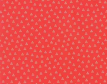Red Dot Fabric - Desert Bloom by  Sherri Chelsi from Moda 1/2 Yard