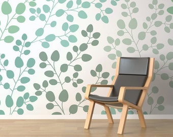 Closed Blossoms - Removable Peel and Stick Wallpaper