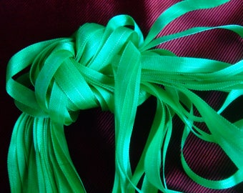 grows 12 m young Green Ribbon viscose * 8 mm * extra - strong France