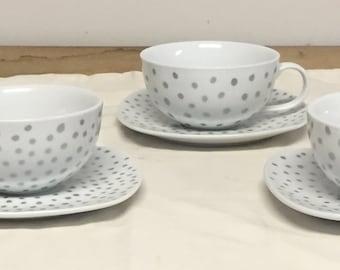 Starry night tea set