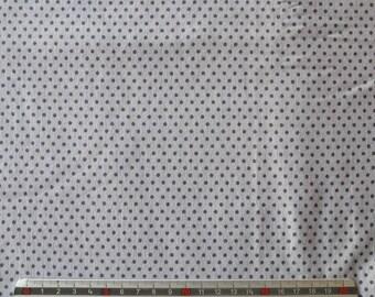 """Polka dot grey"" grey cotton JERSEY fabrics"