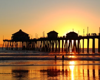 Huntington Beach Pier Sunset #1