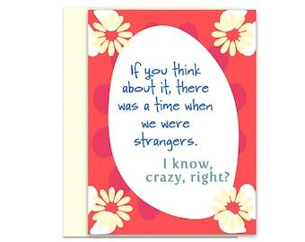 Card for Best Friend | Card for Lover | Birthday Card | Friend Card | Funny Birthday | Birthday Greetings | Birthday | Kat Mariaca Studio