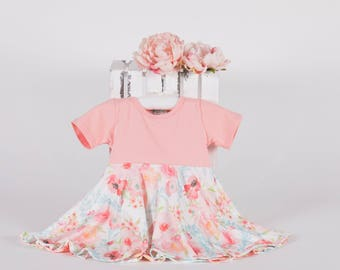 Spring Dress For Baby, Spring Dress For Girls, Floral Dress Baby Girl, Easter Dresses Baby Girl, Spring Dresses For Little Girls, Baby Dress