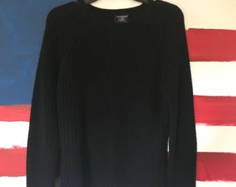 Ralph Lauren Black Knit Sweater