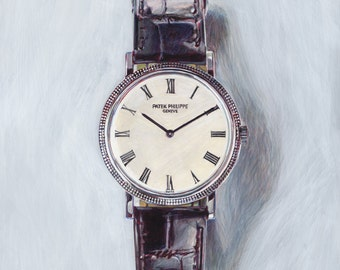 Classic Watches. Giclée print