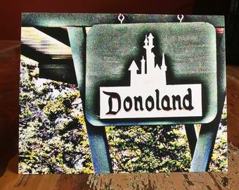 Donoland Note Card