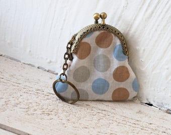 Mini wallet keychain