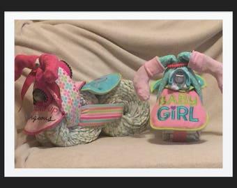 Baby Girl Diaper Bike