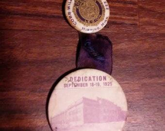 rare 1920s mn whitehead and hoag pinback button cox williams american legion minnesota htf pinback button pinback collectors