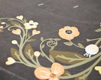 Ketubah Giclée Print by Jennifer Raichman - Flower Garland