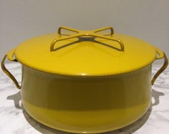 Dansk Kobenstyle 6 qt Yellow Casserole