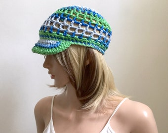 Poolside Brimster - Ballcap - 100% Cotton Yarns