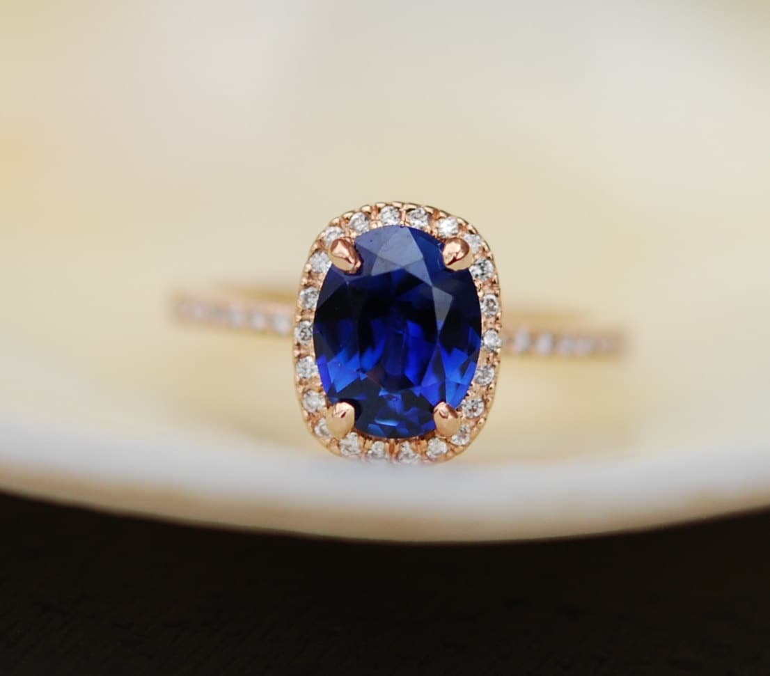 natural royal cushion certified platinum views tcw gia ring sapphire blue more