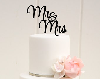 Custom Wedding Cake Topper, Mr and Mrs Cake Topper, Personalized Wedding Cake Topper, Bridal Shower Cake Topper, Cake Topper for Wedding