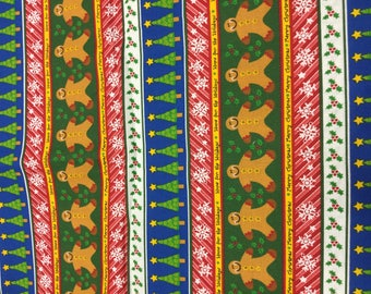 SWEET Christmas Fabric! Gingerbread!