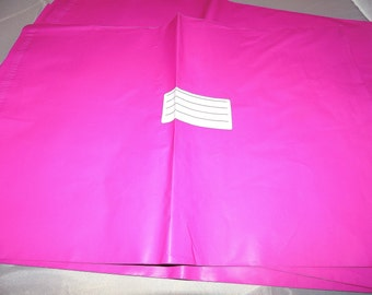 100 Hot Pink 9x12 Poly Mailers, Flat Poly Mailing Shipping Bags, Pink, Colored Poly Mailer Shipping Envelope Poly Shipping