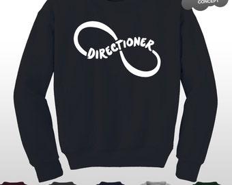 Directioner Sweatshirt 1D Fangirl Concert Fan Sweater Pullover Jumper Top