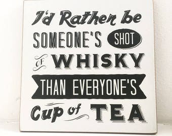 Whiskey Shot Wall Hanger
