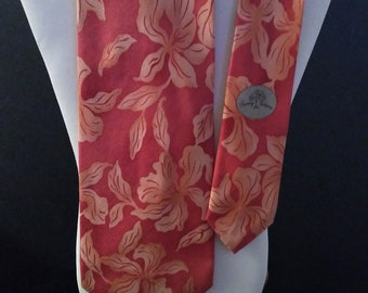Vintage Tommy Bahama Silk Tie with Original Tags