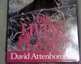 The Living Planet By David Attenborough 1984 Paperback