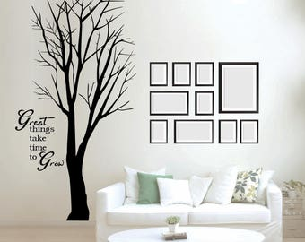 Large Tree Wall Decal - 5ft Tall x 27in Wide