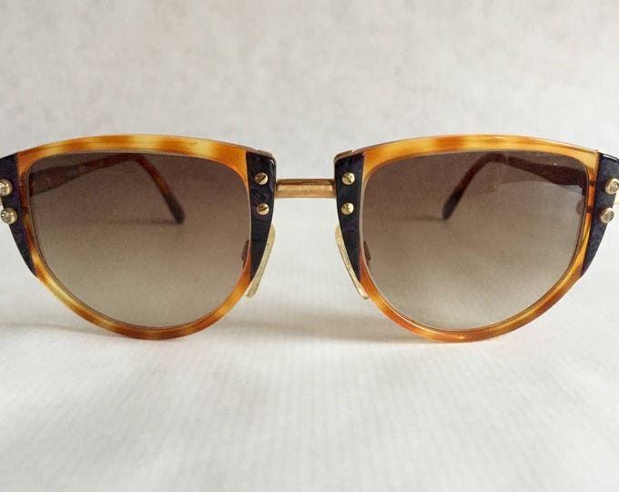 Cazal 332 Col 695 Vintage Glasses Made in West Germany New Unworn Deadstock