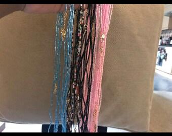 Handstrung African Waist Beads